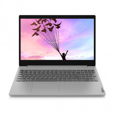 LAPTOP LENOVO IP Slim 3 (81WE015UIN) i3-1005G1/8GB/512GB SSD/INTEGRATED GFX/15.6 FHD AG/Win 10/OFFICE H&S 2019/PLATINUM GREY