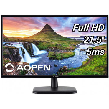 "MONITOR ACER AOPEN 22CV1Q 21.5"" Full HD (1920 x 1080) VA Monitor for Work or Home (1 x HDMI & VGA Port)"