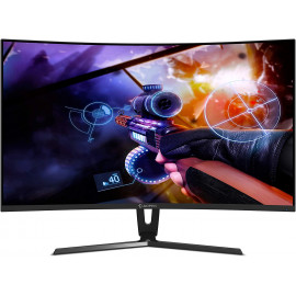 AOPEN Acer 32-inch Full HD Curve VA Panel Gaming Monitor with DisplayPort, HDMI, DVI, 4ms Response time, 144Hz Refresh Rate - 32HC1Q (Black)