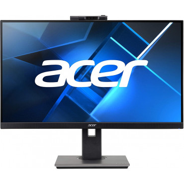MONITOR ACER( B247Y) 23.8 Inch IPS Full HD 1920 X 1080 LED Monitor with FHD Adjustable Webcam, Height Adjustment and Pivot, HDMI, VGA and Display Port