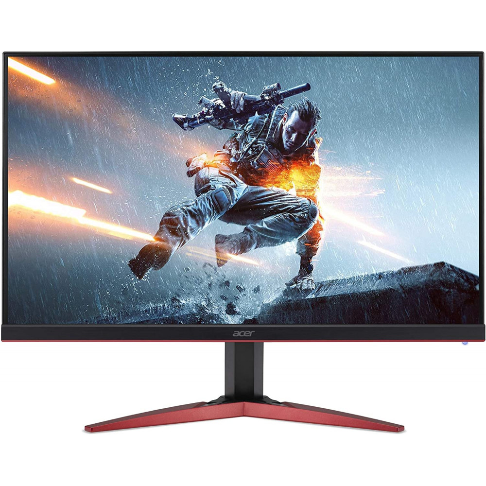 MONITOR ACER (KG271) Acer 27-inch 165 Hz 0.7 MS FHD Gaming Monitor with TN Panel 400 NITS ZeroFrame, 1 x DVI Dual Link Up, 1 x HDMI, 1 x Display Port, 2W