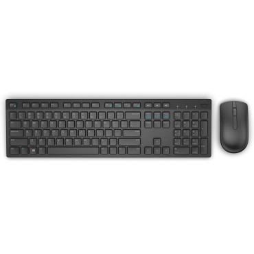 Dell Wireless Keyboard and Mouse KM636 Black