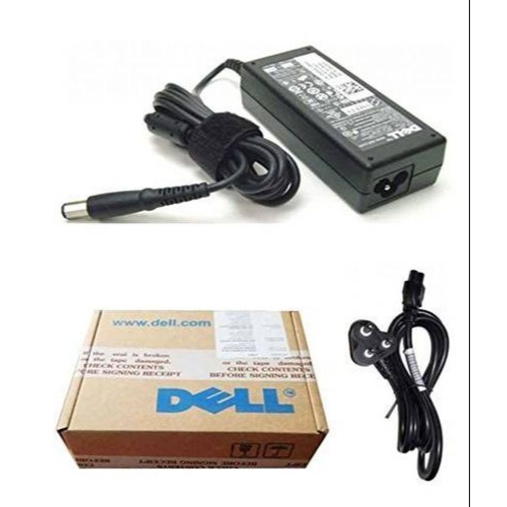 ADAPTER FOR LAPTOP DELL 65W BIG PIN BOX PACK (1Y)