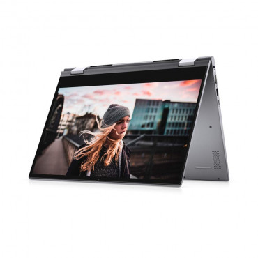 """LAPTOP DELL INSP 2in1 5406 TitanGrey Ci5 1135G7 8GB 512GB SSD NVME  2GB Nvidia Mx330 14.0""""FHD Win10Home+MS Office 2019. 1Yr.W WITH PEN"""