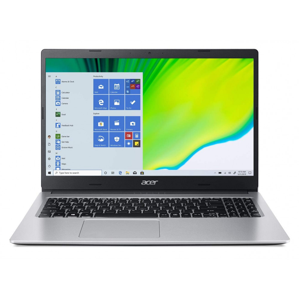Acer Aspire 3 AMD Ryzen 3 15.6-inch Full HD 1366 x 768 Display Thin and Light Laptop (4GB Ram/1TB HDD/Window 10, Home/Integrated Graphics/Pure Silver), A315-23