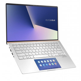 ASUS ZenBook 14 UX434FL-A5822TS Intel Core i5 10th Gen 14-inch FHD Thin & Light Laptop (8GB RAM/512GB PCIe SSD/Windows 10/MS-Office 2019/2GB NVIDIA GeForce MX250 Graphics/1.26 Kg), Icicle Silver