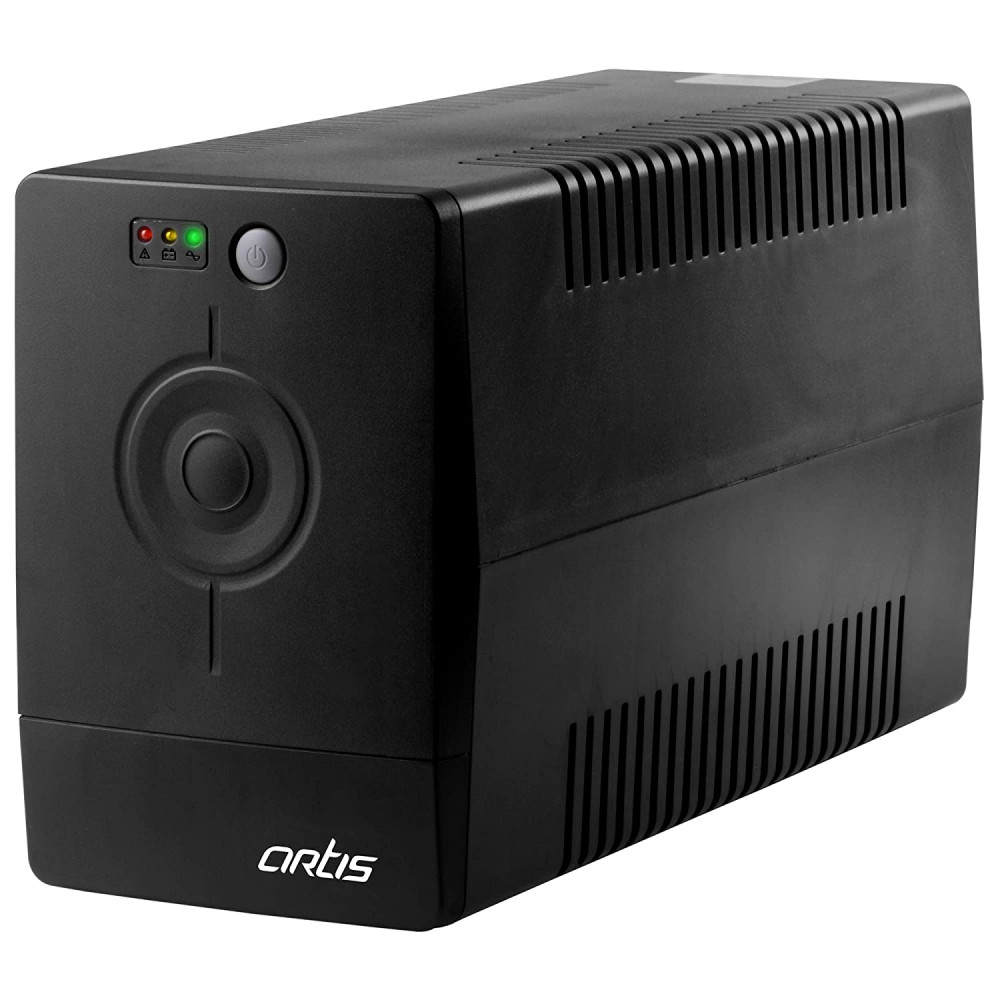 Artis PS-1000Eco 1000VA (1KVA) Line Interactive UPS for Personal Computers, Desktop PCs, Laptops, Routers, Networking Devices and Gaming Consoles