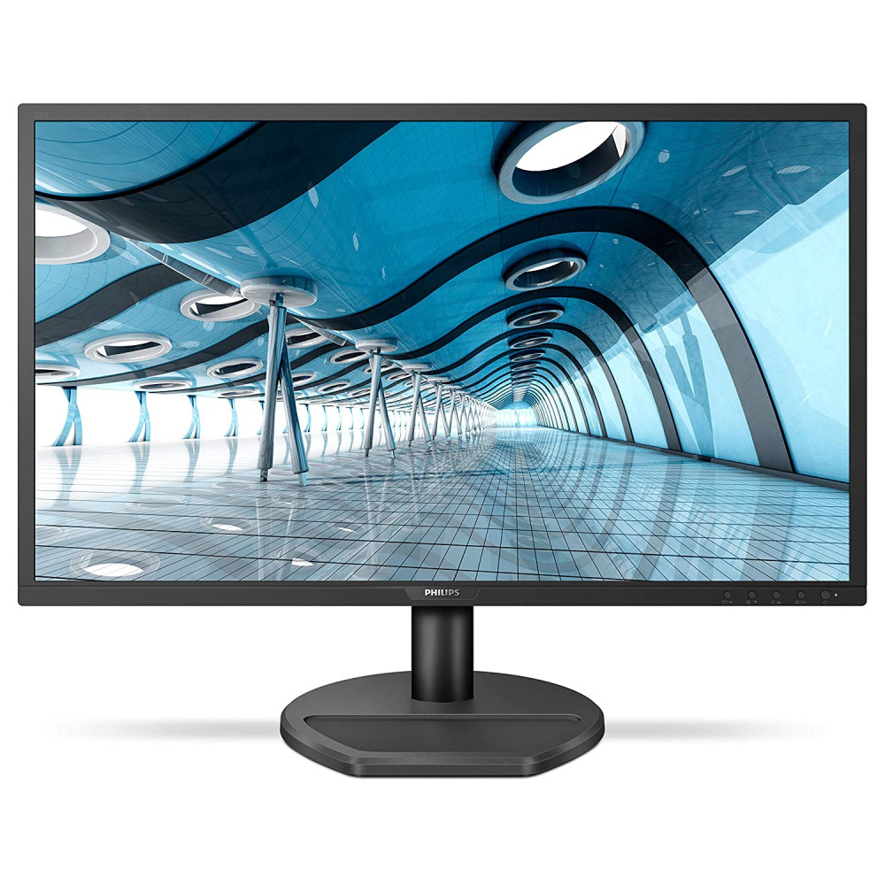 """PHILIPS 221S8LHSB/94 21.5"""" Smart Image Monitor with TN Panel HDMI/VGA Port, 1 ms Response Time, Full HD, Free Sync, 60Hz Refresh Rate, Adjustable Stand, TCO Certified, Flicker Free"""