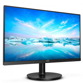 "PHILIPS 241V8/94 23.8"" Wide View Monitor with IPS Display HDMI/VGA Port,4 ms Response Time,Full HD,Free Sync, 75Hz Refresh Rate,Adjustable Stand, VESA Mountable, Flicker Free"